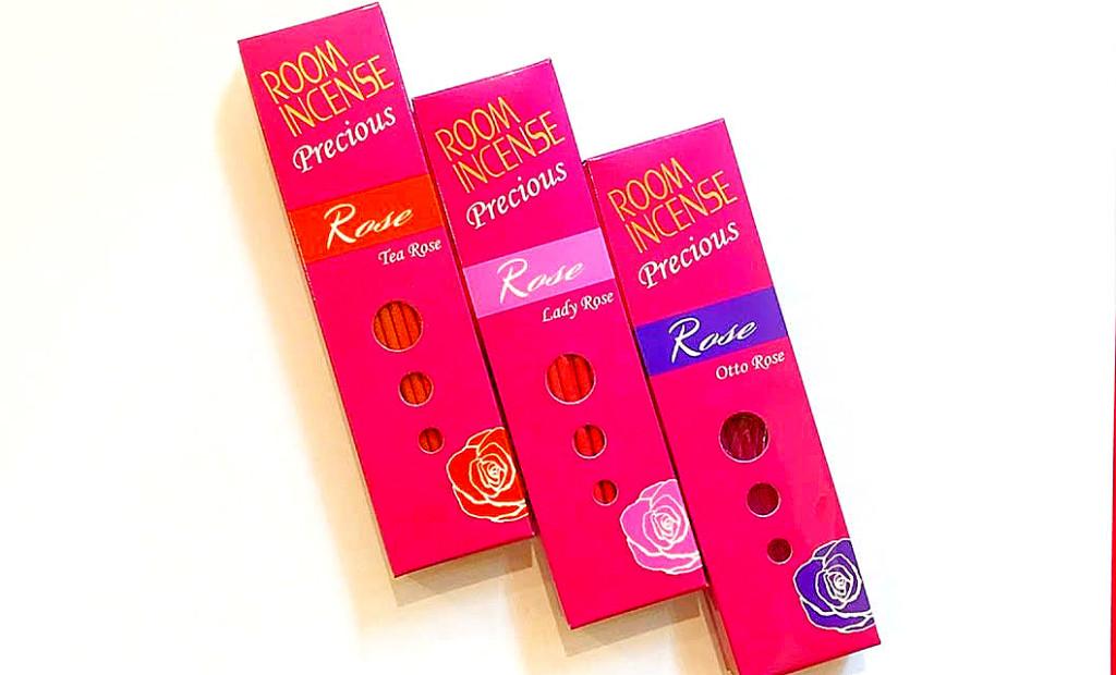 ばら バラ 薔薇 ミニ寸 玉初堂 線香 お香 おこう 香り 香