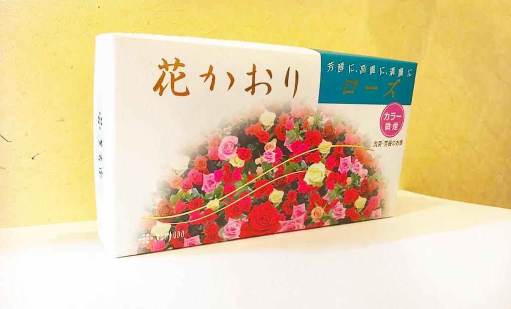線香 お香 おこう 花 バラ 薔薇 ばら ローズ 薫寿堂 微煙